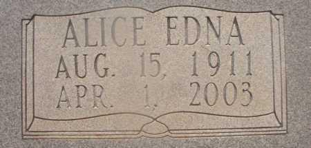 WOODUL, ALICE EDNA (CLOSEUP) - Hempstead County, Arkansas | ALICE EDNA (CLOSEUP) WOODUL - Arkansas Gravestone Photos