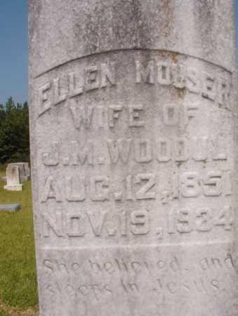 MOUSER WOODUL, ELLEN - Hempstead County, Arkansas | ELLEN MOUSER WOODUL - Arkansas Gravestone Photos