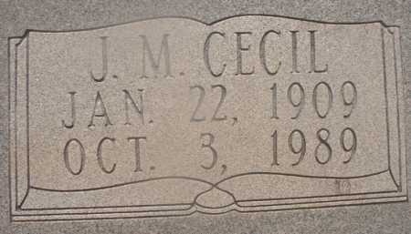 WOODUL, J M CECIL (CLOSEUP) - Hempstead County, Arkansas | J M CECIL (CLOSEUP) WOODUL - Arkansas Gravestone Photos