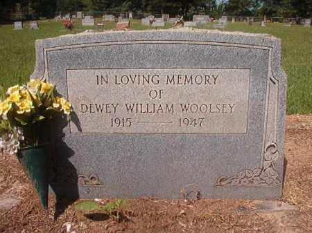 WOOLSEY, DEWEY WILLIAM - Hempstead County, Arkansas | DEWEY WILLIAM WOOLSEY - Arkansas Gravestone Photos