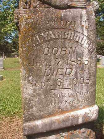 YARBROUGH, W H - Hempstead County, Arkansas | W H YARBROUGH - Arkansas Gravestone Photos