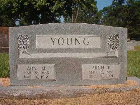 YOUNG, ADA M - Hempstead County, Arkansas   ADA M YOUNG - Arkansas Gravestone Photos