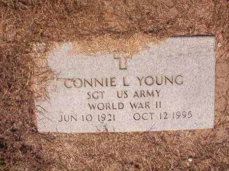 YOUNG (VETERAN WWII), CONNIE L - Hempstead County, Arkansas | CONNIE L YOUNG (VETERAN WWII) - Arkansas Gravestone Photos