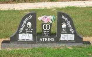 HALL ATKINS, PATSY ALMARIE - Hot Spring County, Arkansas | PATSY ALMARIE HALL ATKINS - Arkansas Gravestone Photos