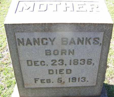 BANKS, NANCY - Hot Spring County, Arkansas   NANCY BANKS - Arkansas Gravestone Photos