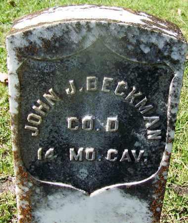 BECKMAN (VETERAN UNION), JOHN J - Hot Spring County, Arkansas | JOHN J BECKMAN (VETERAN UNION) - Arkansas Gravestone Photos