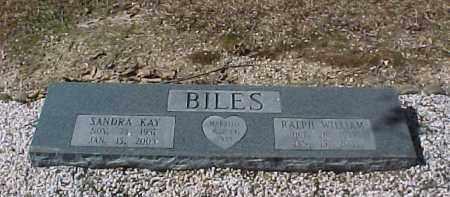 BILES, RALPH WILLIAM - Hot Spring County, Arkansas | RALPH WILLIAM BILES - Arkansas Gravestone Photos