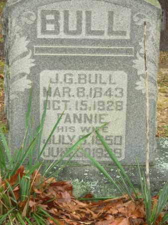 GRAY BULL, FANNIE JOSEPHINE - Hot Spring County, Arkansas | FANNIE JOSEPHINE GRAY BULL - Arkansas Gravestone Photos