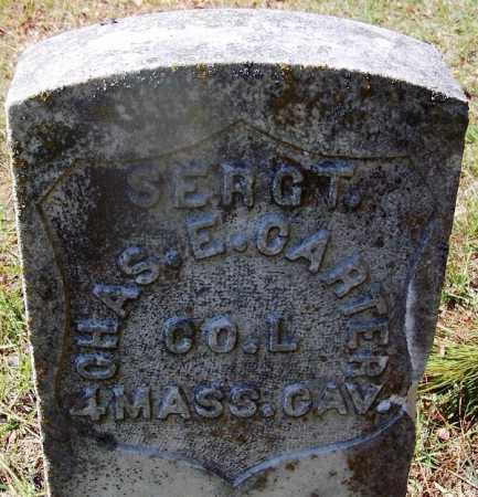 CARTER (VETERAN UNION), CHAS. E - Hot Spring County, Arkansas | CHAS. E CARTER (VETERAN UNION) - Arkansas Gravestone Photos