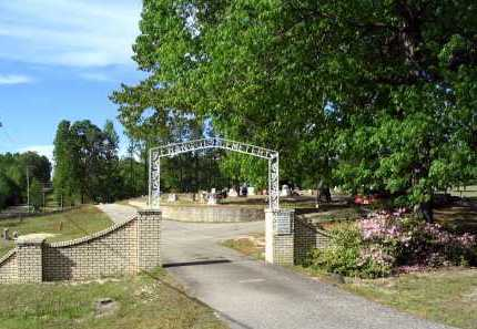 *GATE AND OVERVIEW,  - Hot Spring County, Arkansas |  *GATE AND OVERVIEW - Arkansas Gravestone Photos