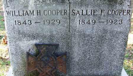 COOPER (VETERAN CSA), WILLIAM H - Hot Spring County, Arkansas   WILLIAM H COOPER (VETERAN CSA) - Arkansas Gravestone Photos