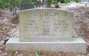 COUCH, MARY JANE - Hot Spring County, Arkansas | MARY JANE COUCH - Arkansas Gravestone Photos