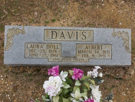DAVIS, ALBERT - Hot Spring County, Arkansas   ALBERT DAVIS - Arkansas Gravestone Photos