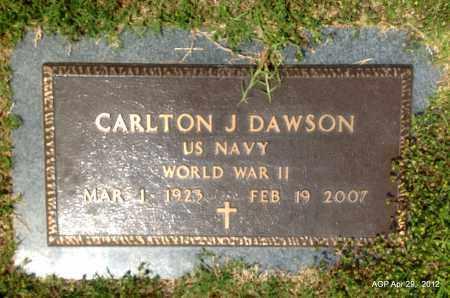 DAWSON (VETERAN), CARLTON J - Hot Spring County, Arkansas | CARLTON J DAWSON (VETERAN) - Arkansas Gravestone Photos