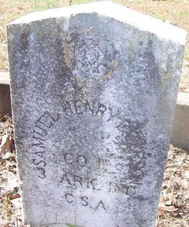 EMERSON (VETERAN CSA), SAMUEL HENRY - Hot Spring County, Arkansas   SAMUEL HENRY EMERSON (VETERAN CSA) - Arkansas Gravestone Photos