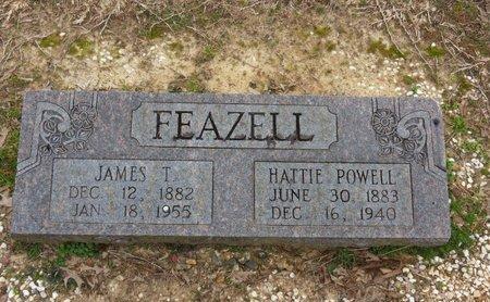 POWELL FEAZELL, HATTIE - Hot Spring County, Arkansas | HATTIE POWELL FEAZELL - Arkansas Gravestone Photos