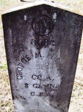 FLOYD, SR. (VETERAN CSA), GEORGE M - Hot Spring County, Arkansas | GEORGE M FLOYD, SR. (VETERAN CSA) - Arkansas Gravestone Photos