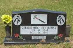 FREEMAN, QUENTIN MITCHELL - Hot Spring County, Arkansas | QUENTIN MITCHELL FREEMAN - Arkansas Gravestone Photos