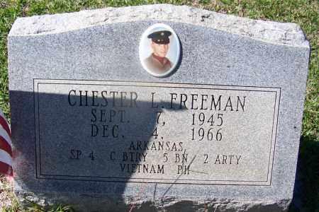 FREEMAN (VETERAN VIET), CHESTER L - Hot Spring County, Arkansas   CHESTER L FREEMAN (VETERAN VIET) - Arkansas Gravestone Photos