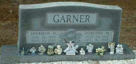 GARNER, SHERMAN H. - Hot Spring County, Arkansas | SHERMAN H. GARNER - Arkansas Gravestone Photos
