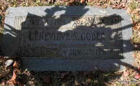 GOBER, GENEVIEVE S - Hot Spring County, Arkansas | GENEVIEVE S GOBER - Arkansas Gravestone Photos