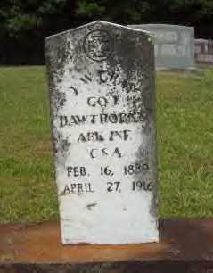 GRAY (VETERAN CSA), J.W. - Hot Spring County, Arkansas | J.W. GRAY (VETERAN CSA) - Arkansas Gravestone Photos