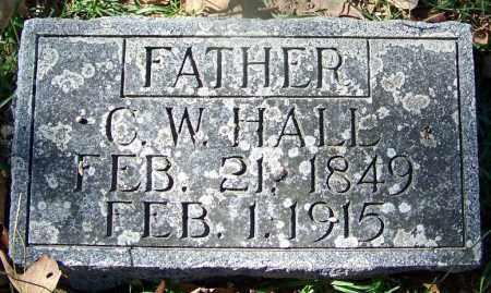 HALL, C W - Hot Spring County, Arkansas   C W HALL - Arkansas Gravestone Photos