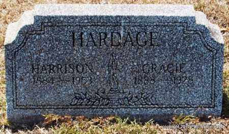 ALMOND HARDAGE, GRACIE - Hot Spring County, Arkansas | GRACIE ALMOND HARDAGE - Arkansas Gravestone Photos