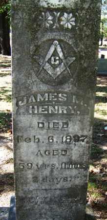 HENRY (VETERAN CSA), JAMES M - Hot Spring County, Arkansas   JAMES M HENRY (VETERAN CSA) - Arkansas Gravestone Photos
