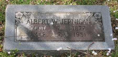JERNIGAN, ALBERT WHITESIDES - Hot Spring County, Arkansas   ALBERT WHITESIDES JERNIGAN - Arkansas Gravestone Photos