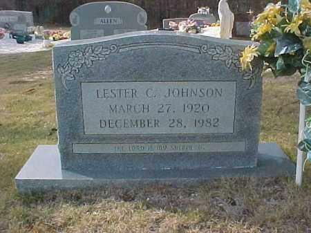 JOHNSON, LESTER C. - Hot Spring County, Arkansas | LESTER C. JOHNSON - Arkansas Gravestone Photos