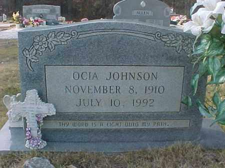 JOHNSON, OCIA - Hot Spring County, Arkansas | OCIA JOHNSON - Arkansas Gravestone Photos