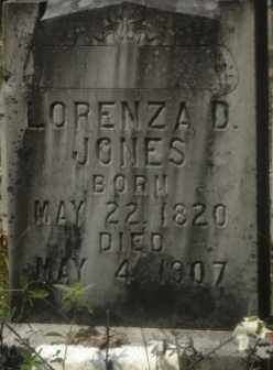 JONES, LORENZA D. - Hot Spring County, Arkansas   LORENZA D. JONES - Arkansas Gravestone Photos