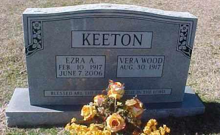 KEETON, EZRA A. - Hot Spring County, Arkansas   EZRA A. KEETON - Arkansas Gravestone Photos