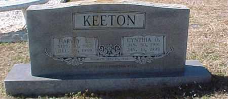 CHANDLER KEETON, CYNTHIA O. - Hot Spring County, Arkansas | CYNTHIA O. CHANDLER KEETON - Arkansas Gravestone Photos