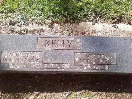 "ELLENOR KELLY, MARTHA A. ""MATTIE"" - Hot Spring County, Arkansas | MARTHA A. ""MATTIE"" ELLENOR KELLY - Arkansas Gravestone Photos"