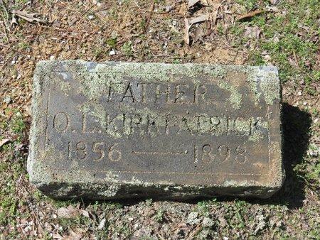 KIRKPATRICK, O.L. - Hot Spring County, Arkansas | O.L. KIRKPATRICK - Arkansas Gravestone Photos
