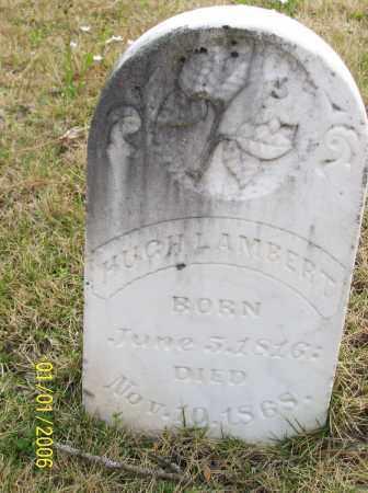 LAMBERT, HUGH - Hot Spring County, Arkansas | HUGH LAMBERT - Arkansas Gravestone Photos