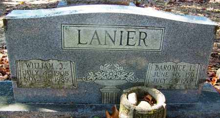 LANIER, WILLIAM J - Hot Spring County, Arkansas | WILLIAM J LANIER - Arkansas Gravestone Photos