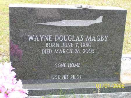 "MAGBY, WAYNE DOUGLAS ""DOUG"" - Hot Spring County, Arkansas   WAYNE DOUGLAS ""DOUG"" MAGBY - Arkansas Gravestone Photos"