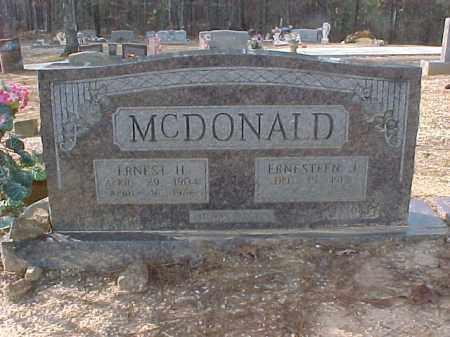 MCDONALD, ERNESTEEN JUANITA - Hot Spring County, Arkansas | ERNESTEEN JUANITA MCDONALD - Arkansas Gravestone Photos
