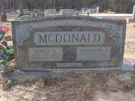 MCDONALD, ERNESTEEN JUANITA - Hot Spring County, Arkansas | ERNESTEEN JUANITA MCDONALD - Arkansas Gravestone Photos