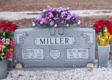 MOORE MILLER, IRENE - Hot Spring County, Arkansas | IRENE MOORE MILLER - Arkansas Gravestone Photos