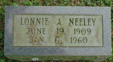 NEELEY, SR., LONNIE ALFRED - Hot Spring County, Arkansas | LONNIE ALFRED NEELEY, SR. - Arkansas Gravestone Photos