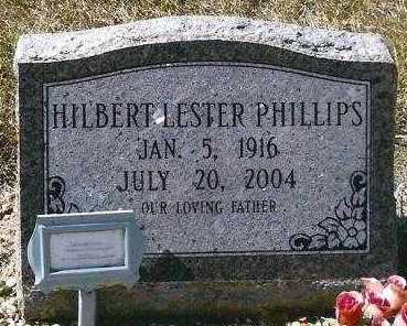 PHILLIPS, HILBERT LESTER - Hot Spring County, Arkansas   HILBERT LESTER PHILLIPS - Arkansas Gravestone Photos
