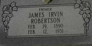 ROBERTSON, JAMES IRVIN - Hot Spring County, Arkansas   JAMES IRVIN ROBERTSON - Arkansas Gravestone Photos