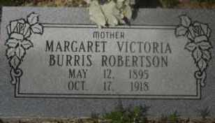 ROBERTSON, MARGARET VICTORIA - Hot Spring County, Arkansas | MARGARET VICTORIA ROBERTSON - Arkansas Gravestone Photos