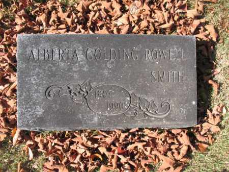 SMITH, ALBERTA - Hot Spring County, Arkansas | ALBERTA SMITH - Arkansas Gravestone Photos