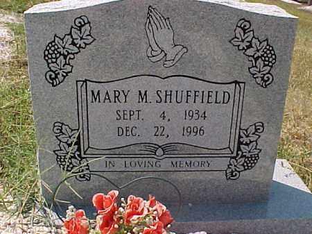 SHUFFIELD, MARY M. - Hot Spring County, Arkansas   MARY M. SHUFFIELD - Arkansas Gravestone Photos