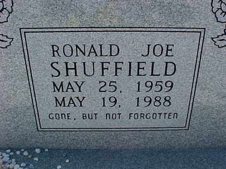 SHUFFIELD, RONALD JOE - Hot Spring County, Arkansas | RONALD JOE SHUFFIELD - Arkansas Gravestone Photos